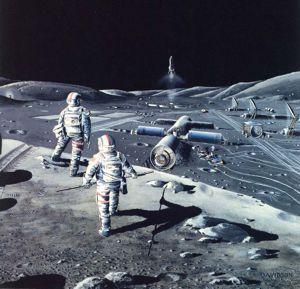 Hard Sci-Fi: NASA Concept of Lunar Base